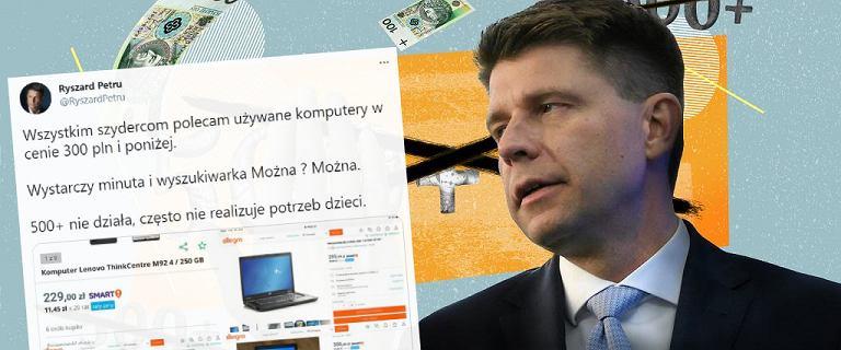 Petru: Dobry, używany komputer można kupić za 300 zł. No to szukamy