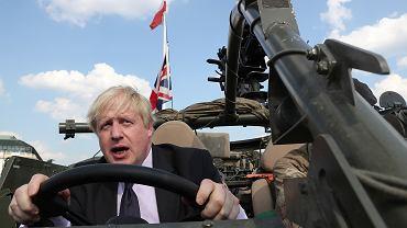 Boris Johnson podczas wizyty w Polsce w czerwcu 2018 roku, jeszcze jako szef brytyjskiego MSZ