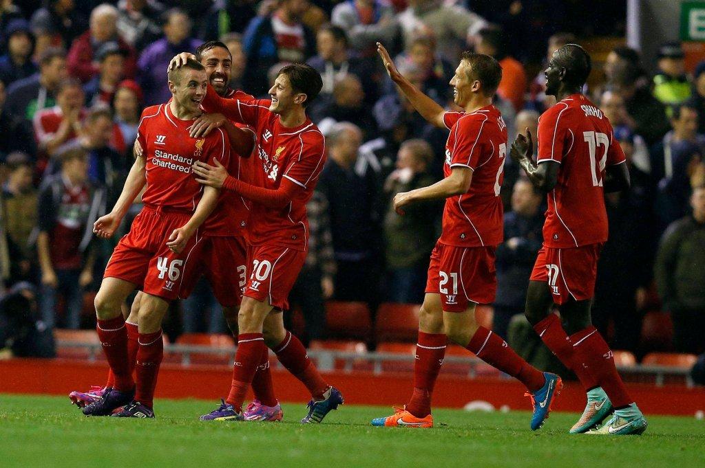 Radość piłkarzy Liverpoolu