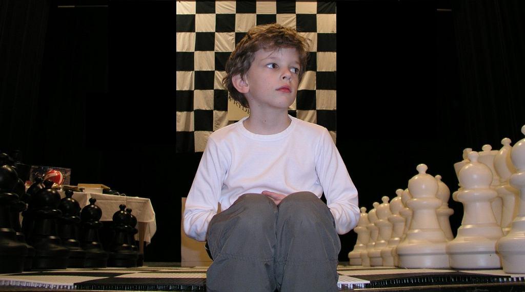Jan-Krzysztof Duda w wieku 8 lat