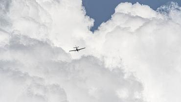 Samolot nadał sygnał mayday (zdj. ilustracyjne)
