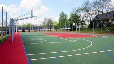 Jedno z nowoczesnych boisk w Bielsku-Białej
