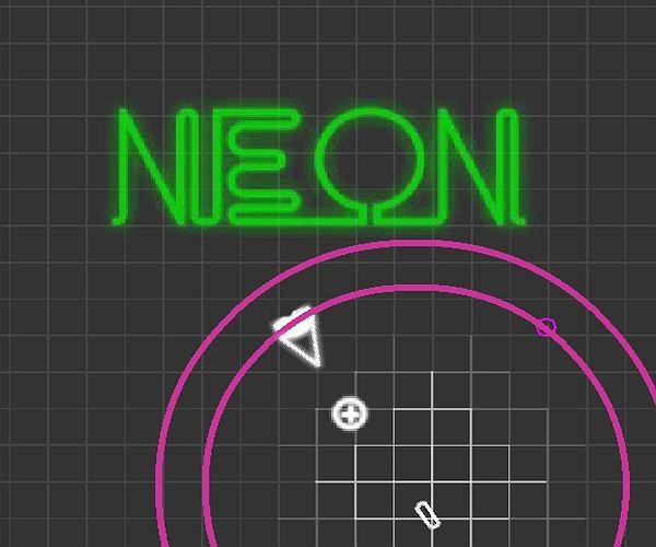 Neonowy stróż