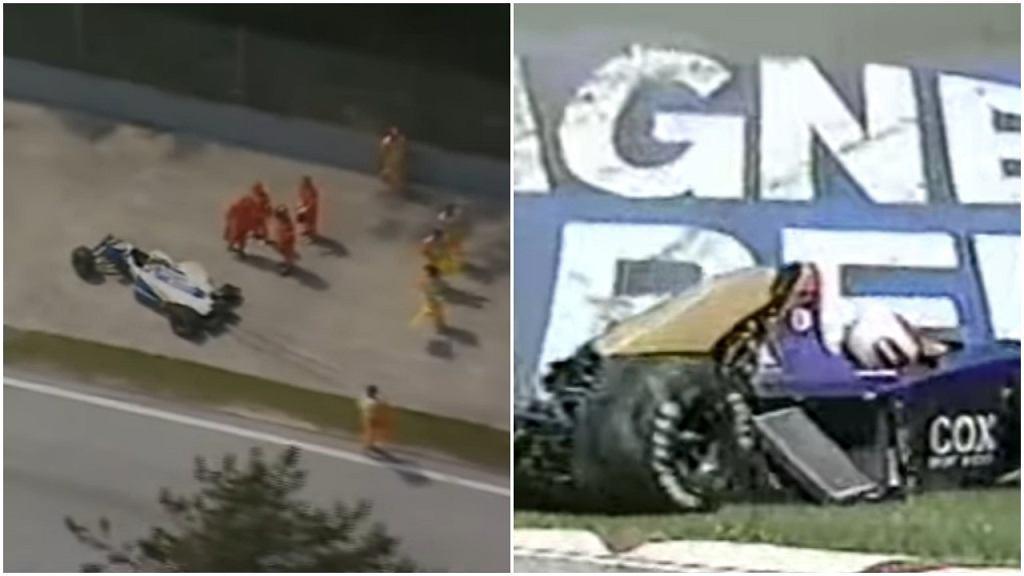 Wypadki Ayrtona Senny i Rolanda Ratzenbergera podczas wyścigu F1 na Imoli w 1994 roku