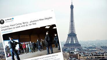 Francja: nielegalne imprezy w majówkę.