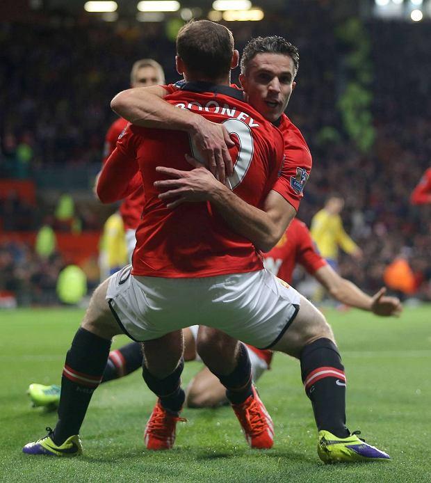 Robin van Persie i Wayne Rooney