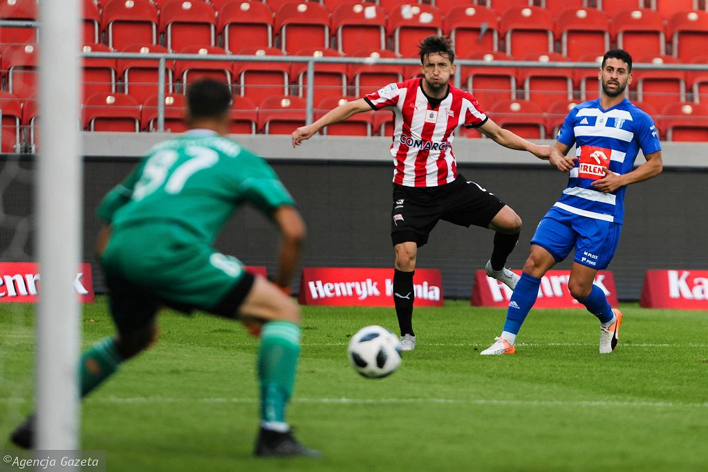 Ekstraklasa, piłka nożna. Cracovia - Wisła Płock 3:1