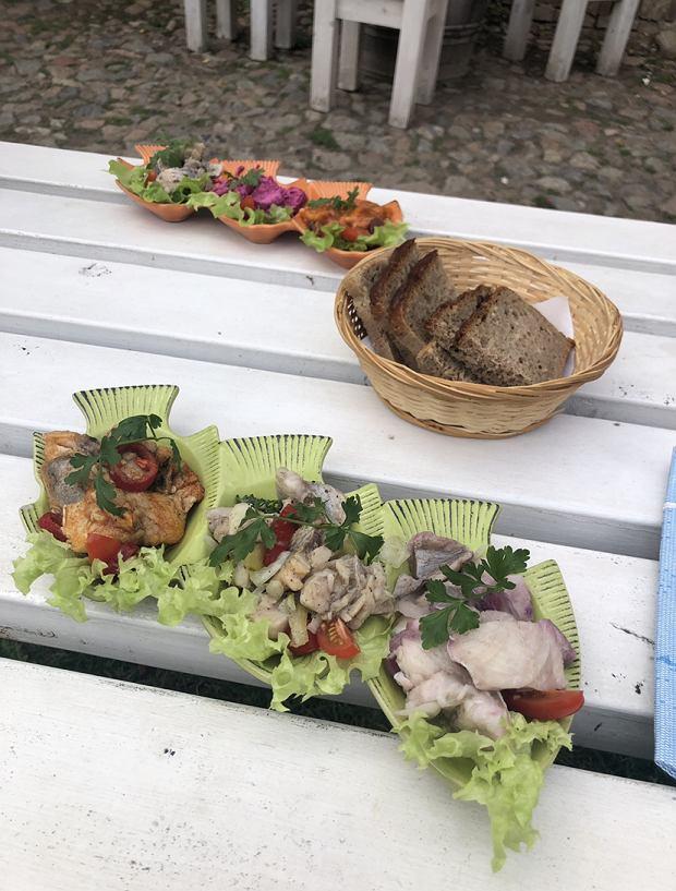 Ryby w restauracji