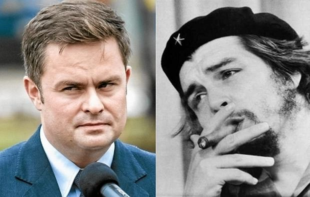 Adam Hofman i Ernesto Guevara