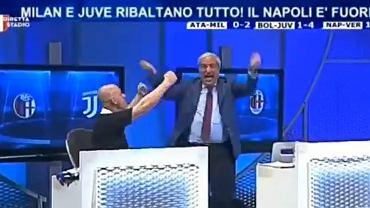 Crudeli oszalał ze szczęścia po awansie Milanu do LM