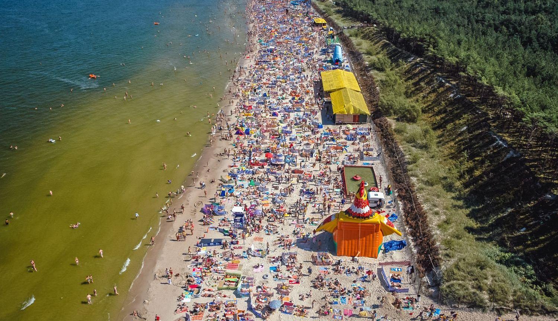 Plaża w Łebie (fot. Shutterstock)