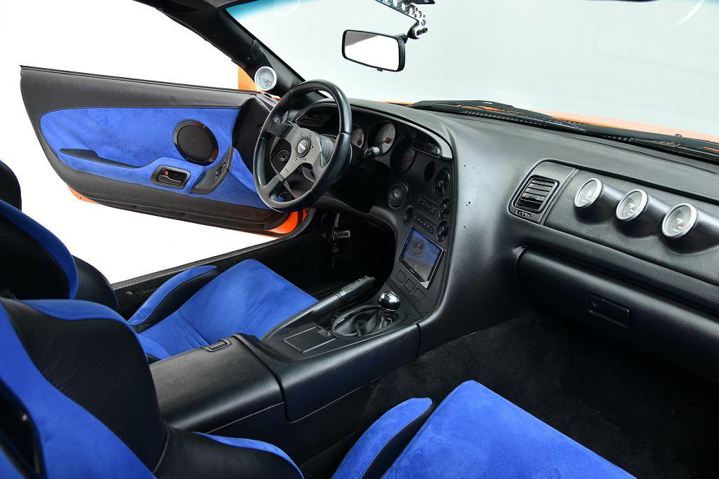 Toyota Supra Briana z 'Szybkich i Wściekłych'