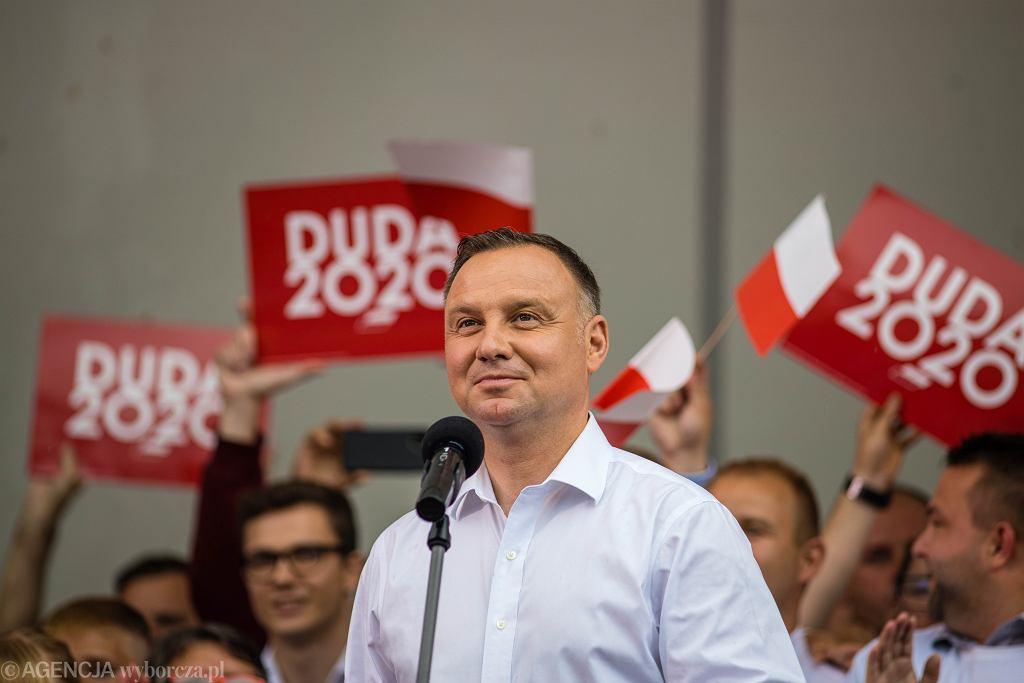 Wizyta prezydenta Andrzeja Dudy w Kwidzynie