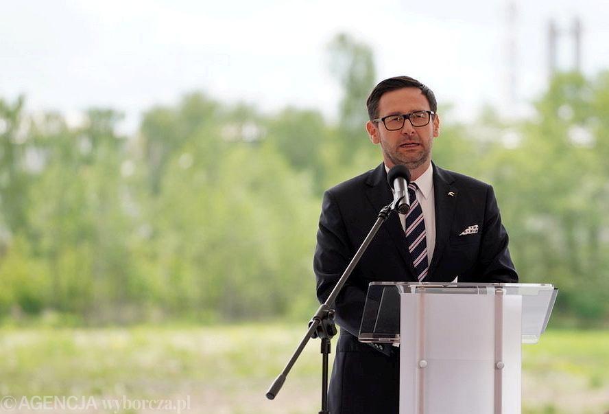 Prezes Polskiego Koncernu Naftowego Orlen Daniel Obajtek