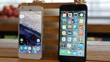 Google Pixel XL i iPhone 7 Plus
