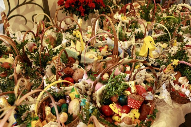 Koszyczki ze święconką - Wielkanoc 2016