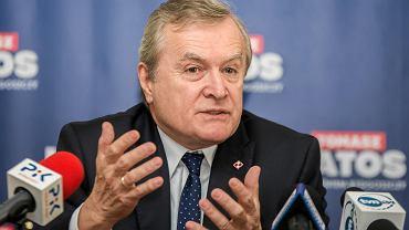 Wicepremier i minister kultury Piotr Gliński