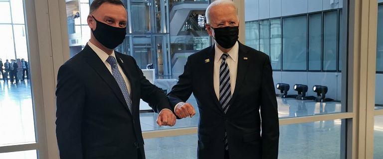 """Spotkanie Duda-Biden na szczycie NATO. Szczerski o """"akcji dezinformacyjnej"""""""