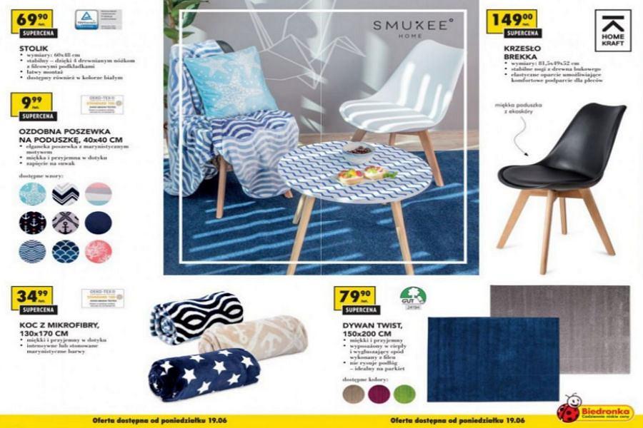 Funkcjonalne meble i piękne tekstylia