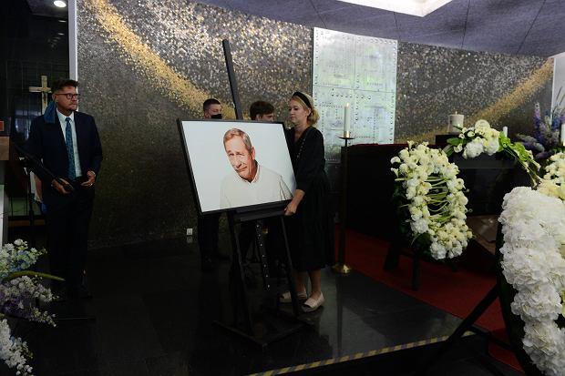 Pogrzeb Andrzeja Strzeleckiego