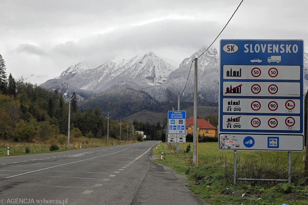 Uwaga na nowe przepisy przy przekraczaniu granicy ze Słowacją