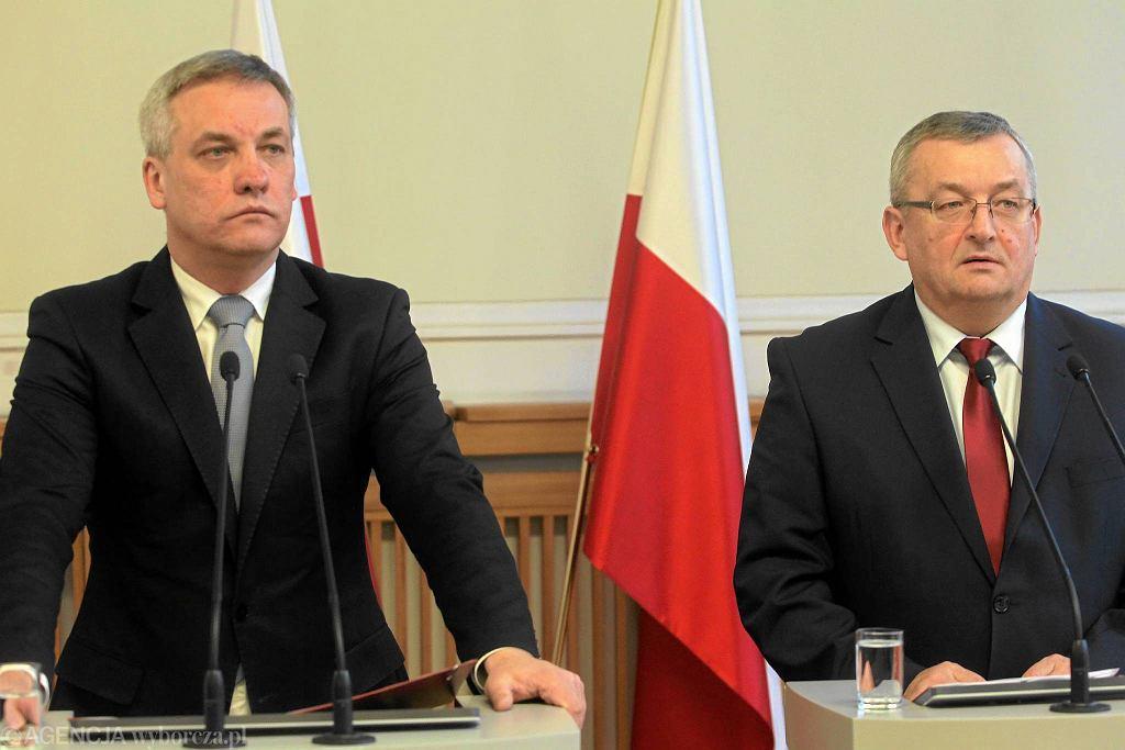 Jerzy Szmit i Andrzej Adamczyk