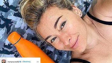 Martyna Wojciechowska pozuje w basenie. Fanka: 'Nago, ale z klasą'