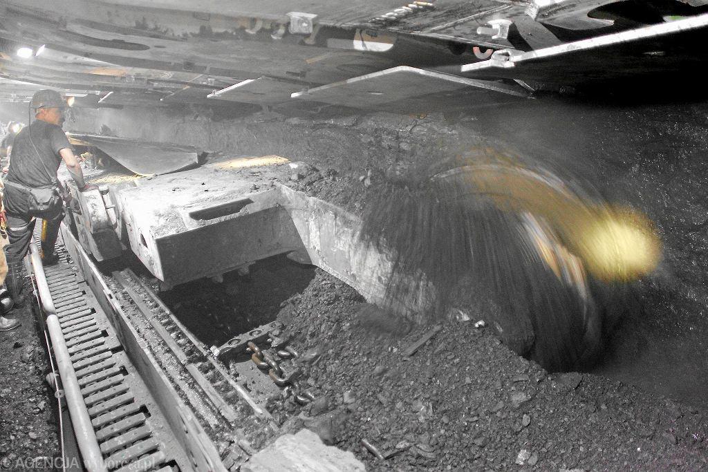 W kopalni węgla kamiennego