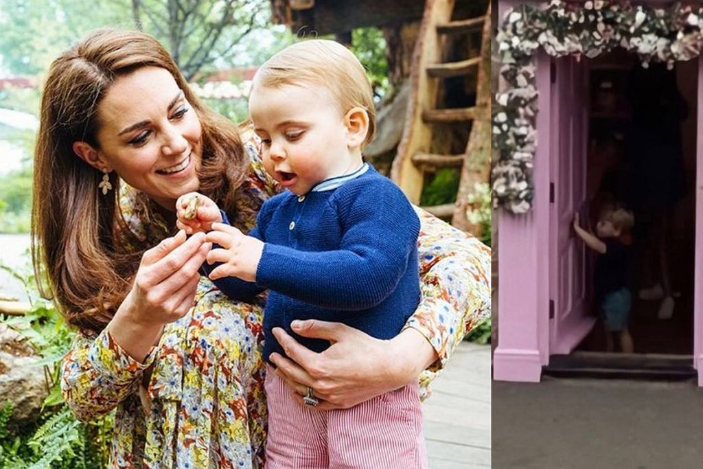 księżna Kate i książę Louis