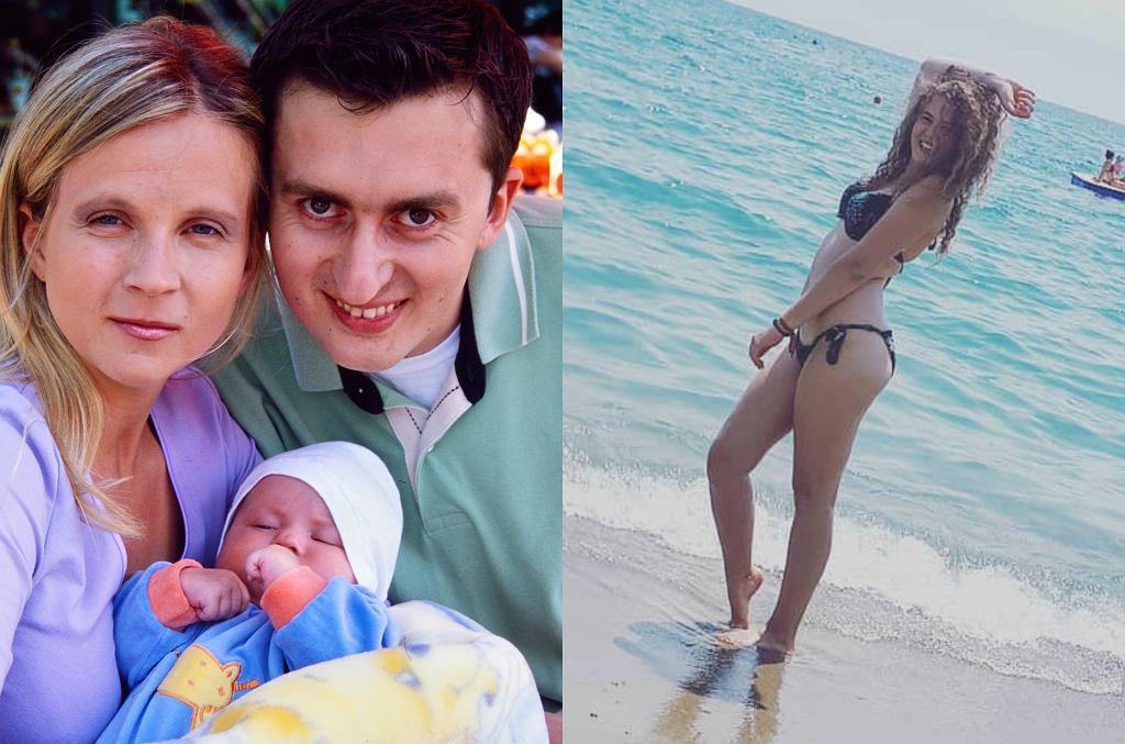 Norbi z byłą partnerką i córką Igą / Iga Dudziuk