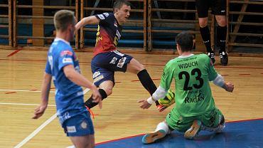 Pogoń 04 Szczecin w meczu z Jasną Gliwice