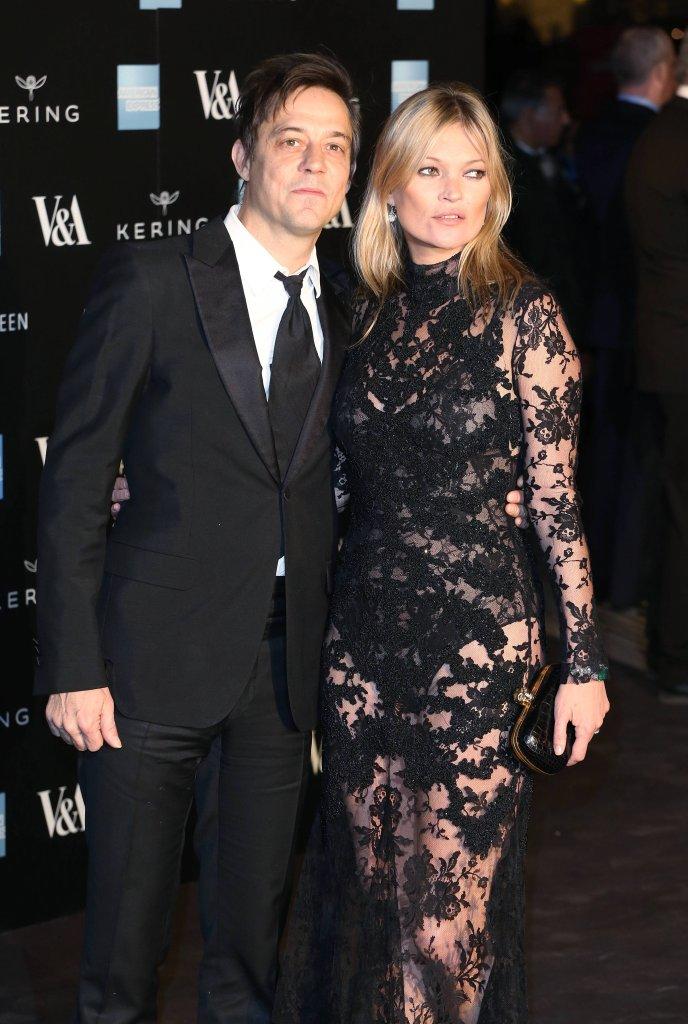 Jamie Hince i Kate Moss