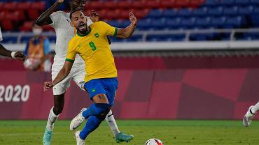 Matheus Cunha (Brazylia) w meczu z Wybrzeżem Kości Słoniowej