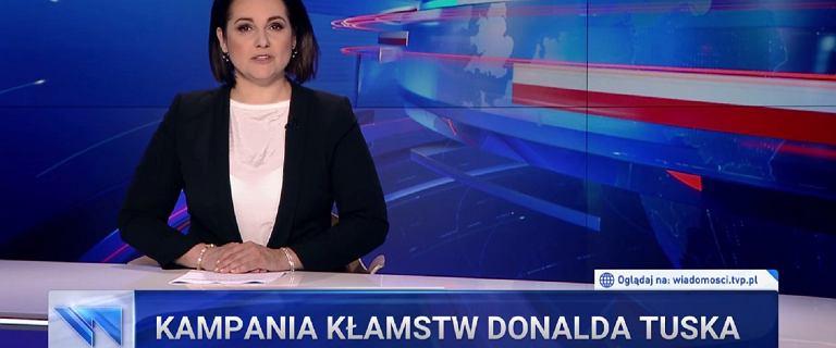 """Kilkadziesiąt skarg na materiały o Tusku w """"Wiadomościach"""""""