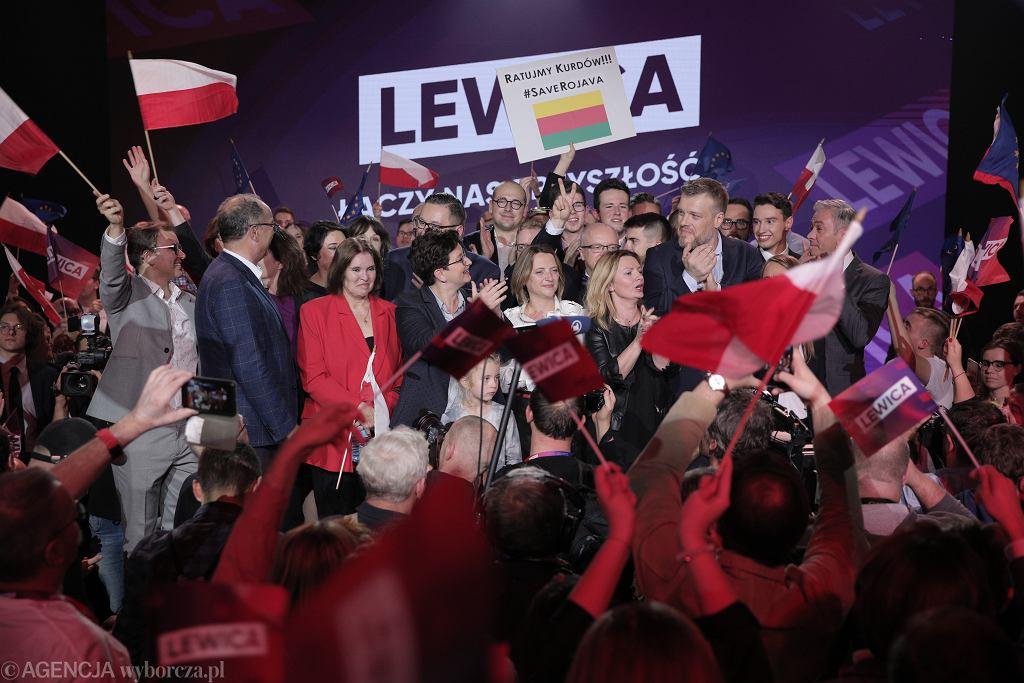 Wybory parlamentarne 2019. Exit poll - wynik Lewicy (zdjęcie ilustracyjne)
