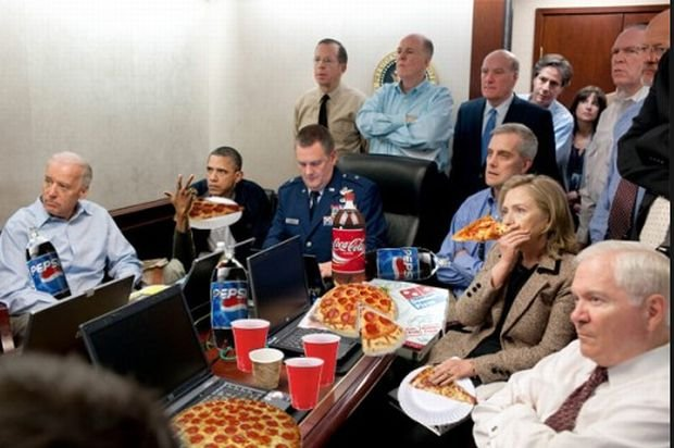 Barack Obama w Situation room