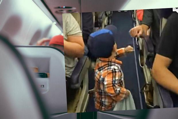 Dziecko na pokładzie samolotu oznacza problemy? Ten uroczy 2-latek udowadnia, że może być inaczej [WIDEO]