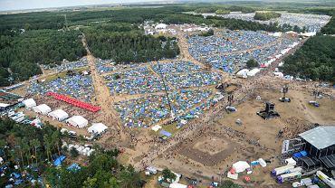 Woodstock 2017 z lotu ptaka
