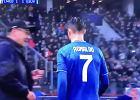 """Maurizio Sarri wytłumaczył, dlaczego zdjął z boiska Cristiano Ronaldo. """"Widać było, że jest zirytowany"""""""