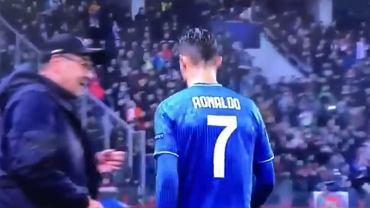 Ronaldo nie podał ręki Sarriemu