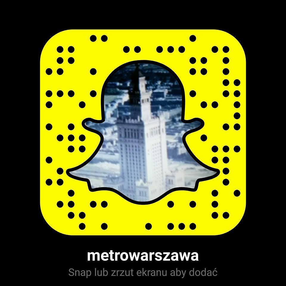 Snapchat MetroWarszawa