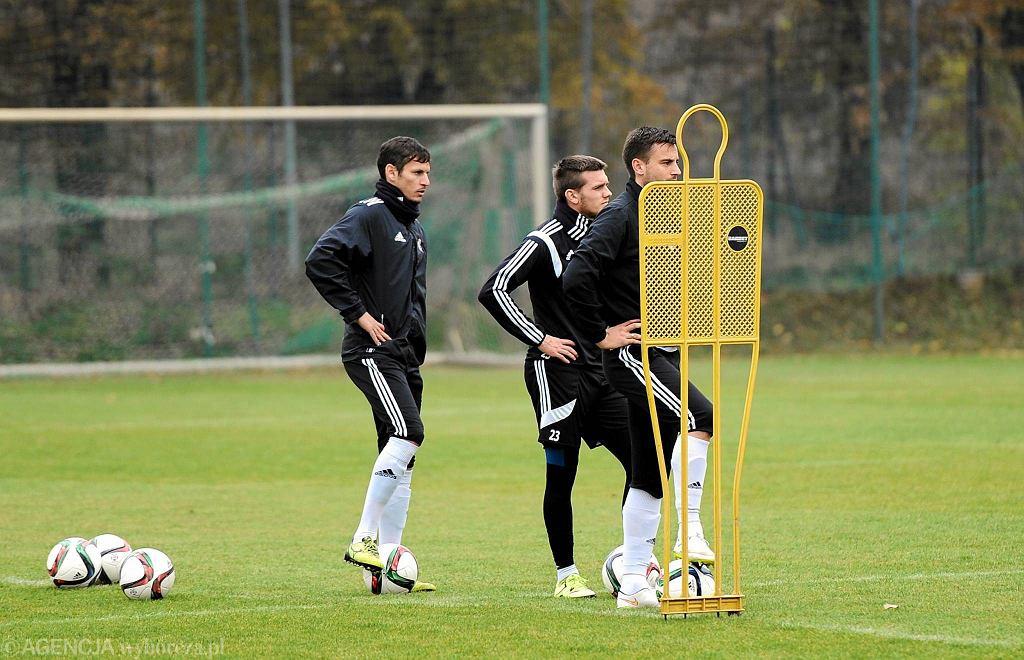 Piłkarze Śląska trenują przed meczem z Lechem