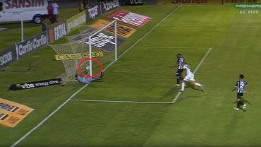 Nieuznany gol w meczu 2. ligi brazylijskiej