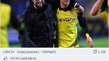 Post na FB Lewandowskiego
