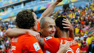 Daley Blind, Arjen Robben i Memphis Depay