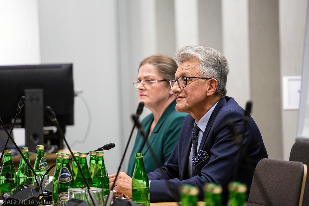 GKomisja sejmowa - w sprawie Krystyny Pawlowicz i Stanislawa Piotrowicza