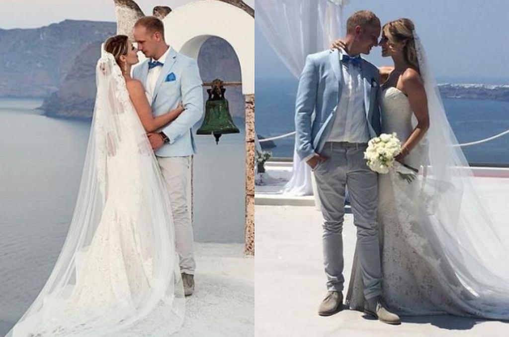 Sabina Jeszka i Karol Małecki wzięli ślub
