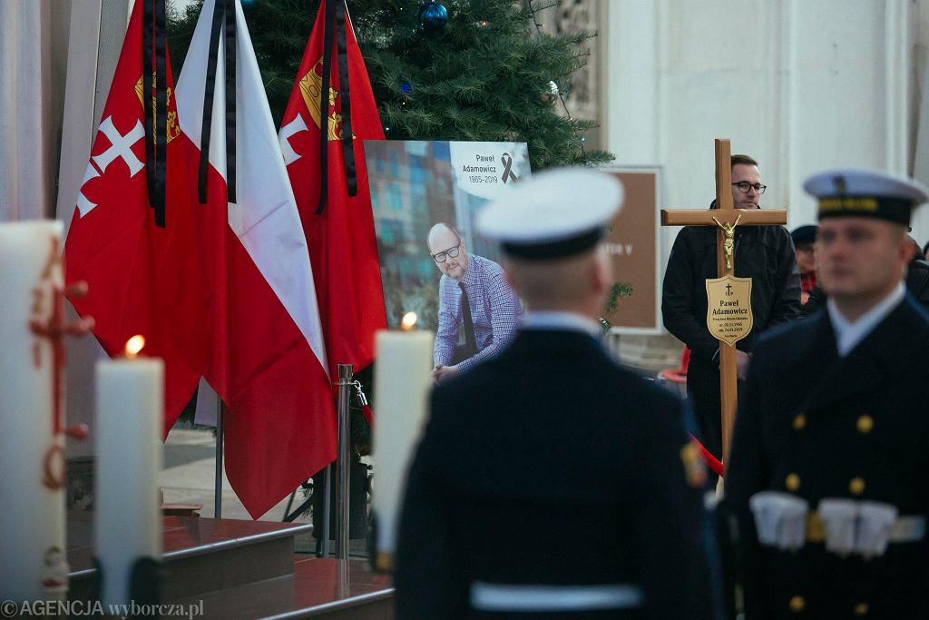 Pogrzeb prezydenta Pawła Adamowicza w Gdańsku.