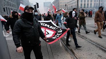 .Dzien Niepodleglosci - swietowanie w Warszawie
