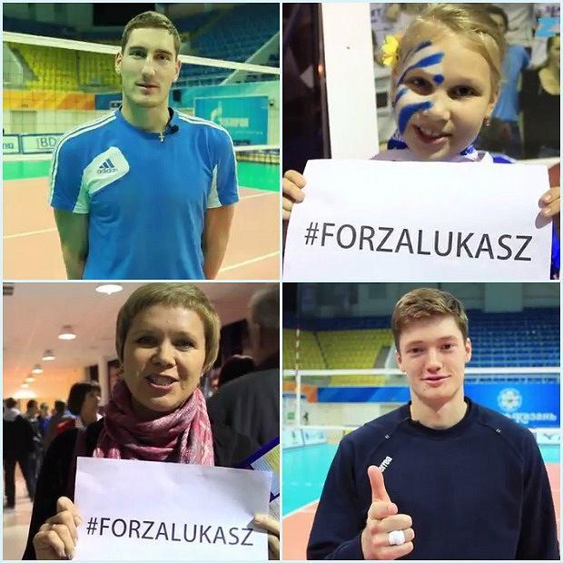 Kibice i zawodnicy Zenitu Kazań życzą szybkiego powrotu do zdrowia Łukaszowi Żygadle